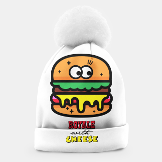 Thumbnail image of Royale with cheese Beanie, Live Heroes