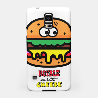 Thumbnail image of Royale with cheese Samsung Case, Live Heroes