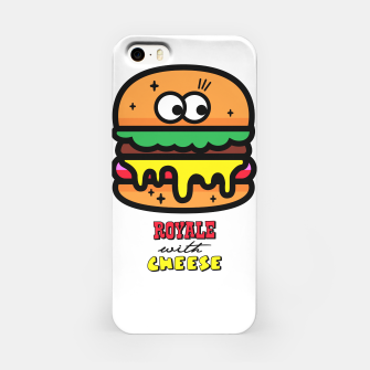 Thumbnail image of Royale with cheese iPhone Case, Live Heroes