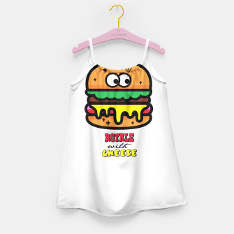 Thumbnail image of Royale with cheese Girl's Dress, Live Heroes