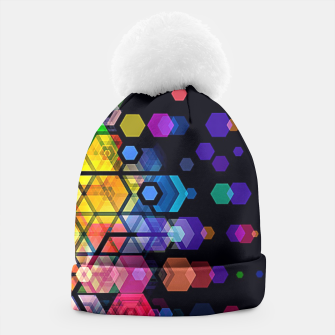 Miniature de image de Monstrously Colorful Elementary Particles Beanie, Live Heroes