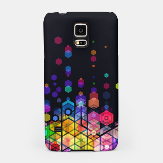 Thumbnail image of Monstrously Colorful Elementary Particles Samsung Case, Live Heroes