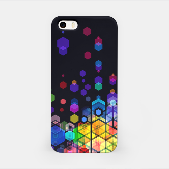 Thumbnail image of Monstrously Colorful Elementary Particles iPhone Case, Live Heroes