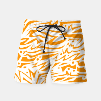Thumbnail image of Engraved! Swim Shorts, Live Heroes