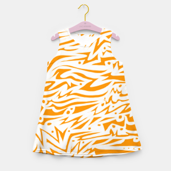 Thumbnail image of Engraved! Girl's Summer Dress, Live Heroes