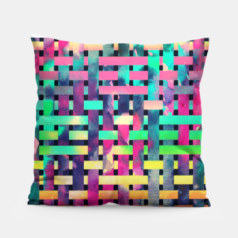 Thumbnail image of City camouflage Pillow, Live Heroes