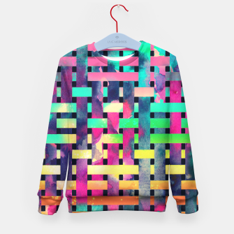Thumbnail image of City camouflage Kid's Sweater, Live Heroes