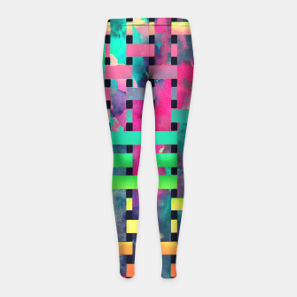 Miniature de image de City camouflage Girl's Leggings, Live Heroes