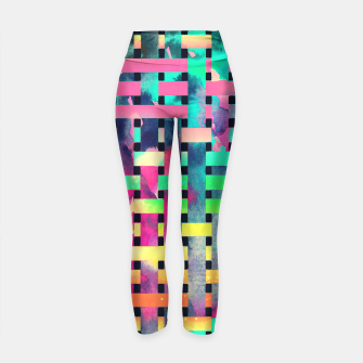 Thumbnail image of City camouflage Yoga Pants, Live Heroes