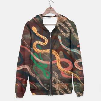 Thumbnail image of Snake me more Hoodie, Live Heroes