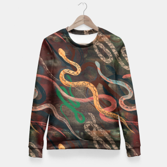 Miniature de image de Snake me more Fitted Waist Sweater, Live Heroes