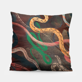 Thumbnail image of Snake me more Pillow, Live Heroes