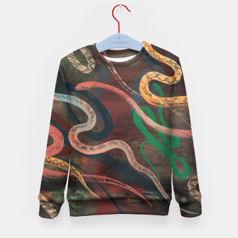 Miniature de image de Snake me more Kid's Sweater, Live Heroes