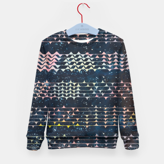 Miniature de image de Message From Afar Kid's Sweater, Live Heroes