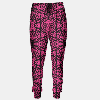 Thumbnail image of pink lines Sweatpants, Live Heroes