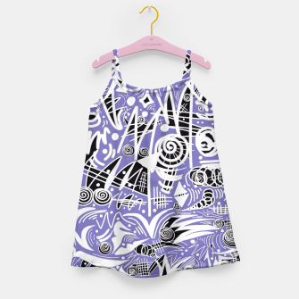 Thumbnail image of Chalk Board (Blue) Girl's Dress, Live Heroes