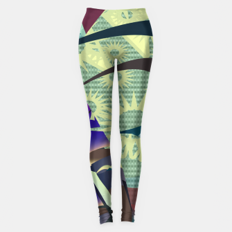 pattern uno  Leggings thumbnail image