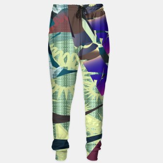 pattern uno  Sweatpants thumbnail image