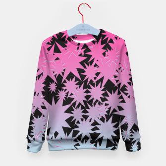 Thumbnail image of Distorted Star Kid's Sweater, Live Heroes