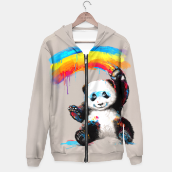 Thumbnail image of Giant Painter Hoodie, Live Heroes