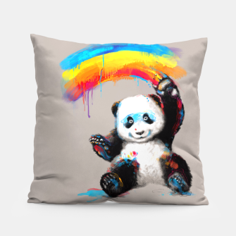 Thumbnail image of Giant Painter Pillow, Live Heroes