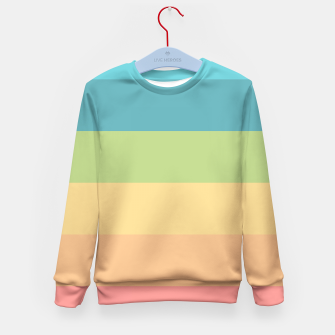 Thumbnail image of Colored Kid's Sweater, Live Heroes