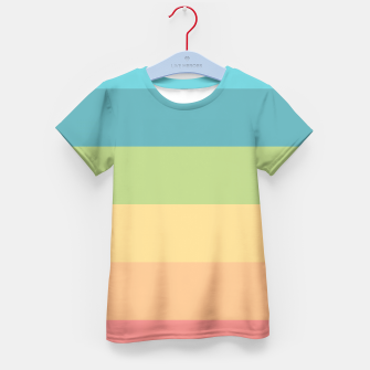 Thumbnail image of Colored Kid's T-shirt, Live Heroes