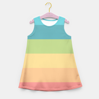 Thumbnail image of Colored Girl's Summer Dress, Live Heroes