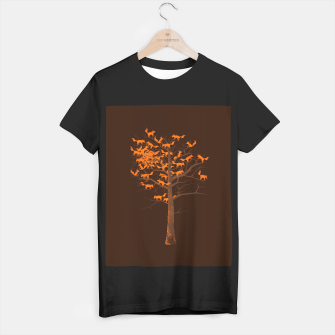 Thumbnail image of Blazing Fox Tree T-shirt regular, Live Heroes