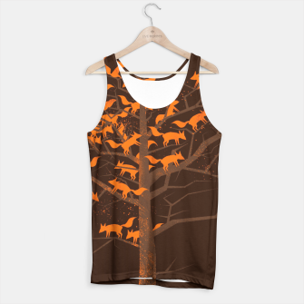 Miniature de image de Blazing Fox Tree Tank Top, Live Heroes