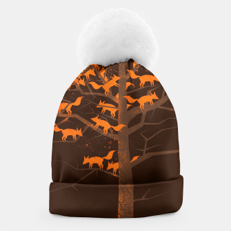 Thumbnail image of Blazing Fox Tree Beanie, Live Heroes