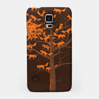 Thumbnail image of Blazing Fox Tree Samsung Case, Live Heroes