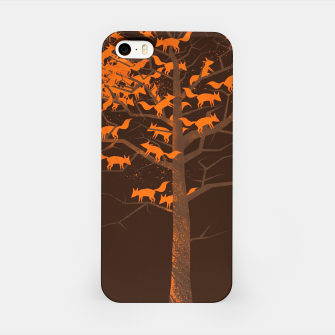 Thumbnail image of Blazing Fox Tree iPhone Case, Live Heroes