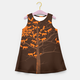 Thumbnail image of Blazing Fox Tree Girl's Summer Dress, Live Heroes
