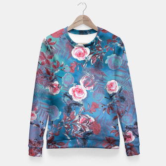 flowers Fitted Waist Sweater thumbnail image