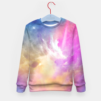 Thumbnail image of Galactic waves Kid's Sweater, Live Heroes