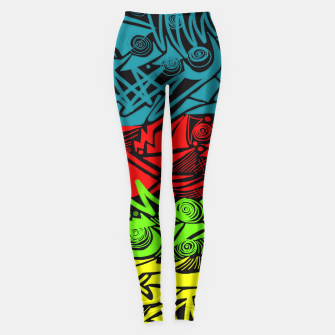 Thumbnail image of Inked! Leggings, Live Heroes