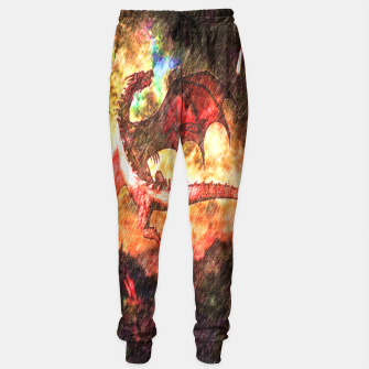 Thumbnail image of Dragon's fire Sweatpants, Live Heroes