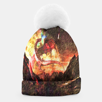 Thumbnail image of Dragon's fire Beanie, Live Heroes