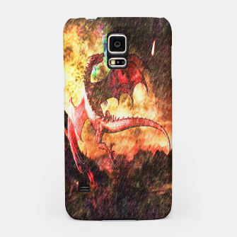Thumbnail image of Dragon's fire Samsung Case, Live Heroes