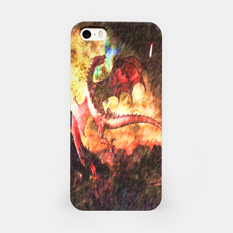 Thumbnail image of Dragon's fire iPhone Case, Live Heroes