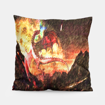 Thumbnail image of Dragon's fire Pillow, Live Heroes