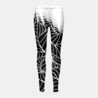 Thumbnail image of L Girl's Leggings, Live Heroes