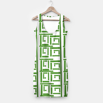 Thumbnail image of Rectangular White  Simple Dress, Live Heroes