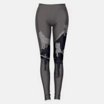 Thumbnail image of Wolf Gang Leggings, Live Heroes