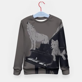 Thumbnail image of Wolf Gang Kid's Sweater, Live Heroes