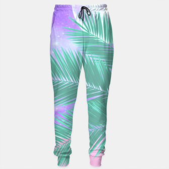 Thumbnail image of Palm Fronds Sweatpants, Live Heroes