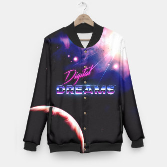 Thumbnail image of Digital Dreams Baseball Jacket, Live Heroes