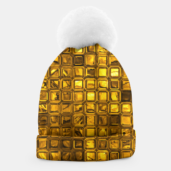 Thumbnail image of Glossy Tiles, golden Beanie, Live Heroes