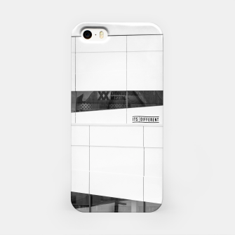 Thumbnail image of Black & White Wall Pattern iPhone Case, Live Heroes